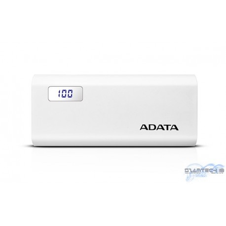 A-Data P12500D 12500mAh PowerBank, fehér
